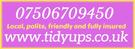 Tidyups.co.uk - 07506 709450 - Teesside, Durham, North East England